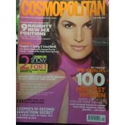 Cosmopolitan Uk N° 4.00 Cindy Crawford, The World 100's Hottest Women