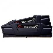Mémoire RAM G.Skill RipJaws 5 Series Noir 16 Go (4x 4 Go) DDR4 3200 MHz CL16 PC4-25600 - F4-3200C16Q-16GVKB