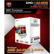 Amd 3.2 Ghz Fm2 A4 4020 Processor (Metal)