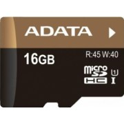 Card de memorie ADATA microSDHC Premier Pro UHS-I U1 16GB + Adap