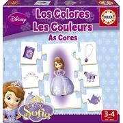 Princesa Sofía - Aprendo Los Colores, juego educativo (Educa Borrás 16231)