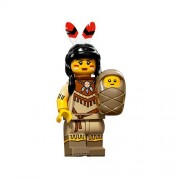 LEGO Minifigures Series 15 Tribal Woman Minifigure With Baby Loose