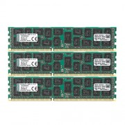 Kingston KVR13R9D4K3/48 Memoria RAM da 48 GB, Kit 3x16 GB, 1333 MHz, DDR3, ECC Reg CL9 DIMM, 240-pin