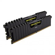 Corsair CMK8GX4M2B3000C15 Vengeance LPX Kit di Memoria RAM da 8 GB, 2x4 GB, DDR4, 3000 MHz, CL15, Nero