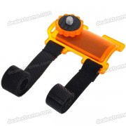 Camera Action Mount Holder for Bicycle - Orange