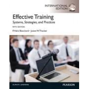 Effective Training by P. Nick Blanchard