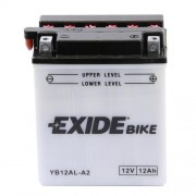 Exide YB12AL-A 12V 12Ah motorkerékpár akkumulátor JOBB+