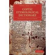 Coptic Etymological Dictionary by Jaroslav Cerny