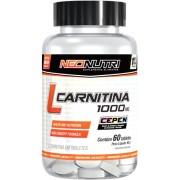 L-Carnitina 1000mg - 60 Cápsulas- NeoNutri