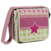 LÄSSIG Tas Mini Messenger Bag Design Starlight Magenta