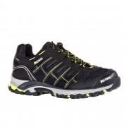 Meindl Cuba GTX Herren Gr. 8 - schwarz grau / lemon/schwarz - Sportliche Hikingschuhe