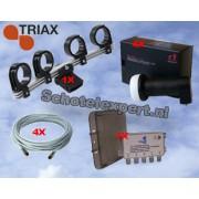Uitbreidingsset voor de Triax schotel