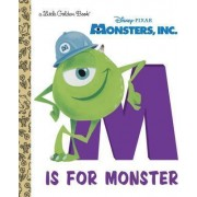 Monsters, Inc.: M Is for Monster by Rh Disney