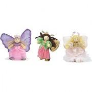 Budkins Set of 3 Fairy Figures
