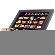 Moniteur LCD tactile 15 pouces - 1024x768 / VGA / HDMI / Entree TV / Pour PC/DOS