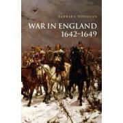 War in England 1642-1649 by Barbara Donagan