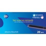 Cartuse cerneala School Friendly 20 buc