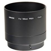 Bower ANP60072 72 mm Adapter Tube for Nikon Coolpix P600 Digital Camera (Black)