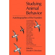 Studying Animal Behaviour by Donald A. Dewsbury
