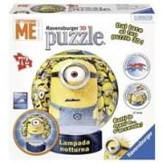 Puzzle 3D RAVENSBURGER Minions cu lumina 72 Piese