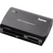 Hama USB 2.0 Card Reader Writer 65 in 1, schwarz