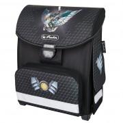 Ghiozdan ergonomic neechipat, dimensiune 30x38x21cm motiv Smart Dragon Knight