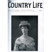 Country Life Illustrated, Vol. Xx, N° 501, Aug. 1906 (Contents: Our Portrait Illustration: Viscountess Powerscourt. The Scottish Crofter. Country Notes. Over Dogs. (Illustrated). From The ...