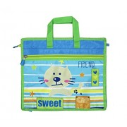 Shopaholic Attractive Sweet Cat Featured Drawing Cum School Bag & Exam Pad For Kids