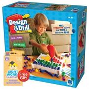 Design & Drill Activity Center Includes Bonus Pop Toob!