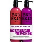 TIGI Bed Head Dumb Blonde Tween Duo 2x750ml