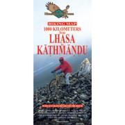 Fietskaart Biking Lhasa to Kathmandu   Himalayan Maphouse