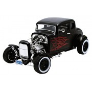 MotorMax - 73172bk_flames / 79992 - Ford - Hot Rod Coupe - 1932 - 1/18 Scala