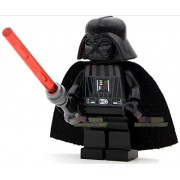Star Wars Darth Vader with a red Lightsaber Minifigures by Maqony