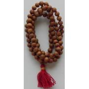 Japa Mala - White Rosary - 7 mm