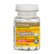 ASPIRIN 325mg 100 Coated Tablets