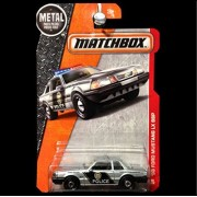 Matchbox 2016 Heroic Rescue 1993 Ford Mustang LX SSP State Police Silver