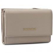Coccinelle Duży Portfel Damski COCCINELLE - YW5 Metallic Soft C2 YW5 11 66 01 Seashell 143