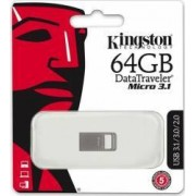 USB Flash Drive Kingston DataTraveler Micro 3.1 64GB Metal