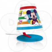 Philips stona lampa Mickey Mouse white