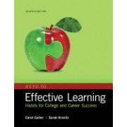 Keys to Effective Learning: Habits for College and Career Success Plus Mystudentsuccesslab Without Pearson Etext -- Access Card Package