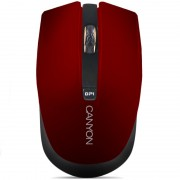 Mouse, CANYON CNS-CMSW5R, Wireless, Red