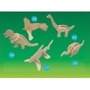 Puzzled - Mini 3D Puzzles - BRACHIOSAURUS (4 Pieces) by Puzzled, Inc.