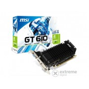 Placă video MSI N610-1GD3H/LPV1 NVIDIA GT 610 1GB