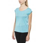 Nike Dri-Fit Cool Breeze Short Sleeve Top Women Omega Blue/Reflective Silv 2016 XS Laufshirts