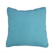 - Coussin tissu bleu turquoise - Osaka