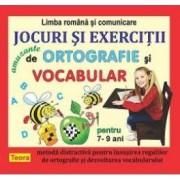 Jocuri si exercitii amuzante de ortografie si vocabular pentru 7-9 ani ed. 2012
