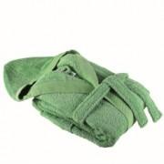 Халати с качулка Милано - зелено