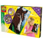 Strijkkralen bord XL SES: paard