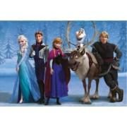 Puzzle 2 in 1 - Frozen - Regatul de Gheata 66 piese