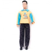 Barbie Doll Clothes Casual Clothing Fit Ken - Long Sleeves T-shirt And Pants